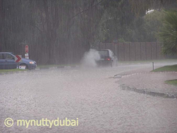 Rain in JNB