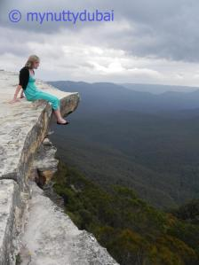 Me overlooking the Blue Mountains