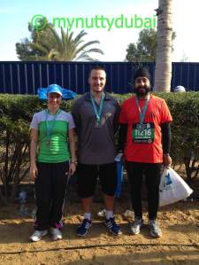 2 of my colleagues who ran with me