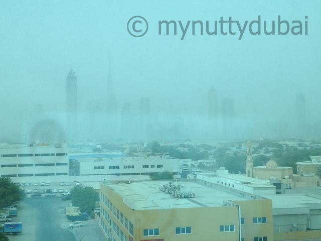 Sandstorm a-coming!