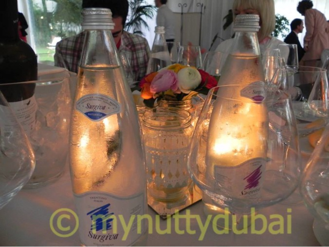 bottles and candles