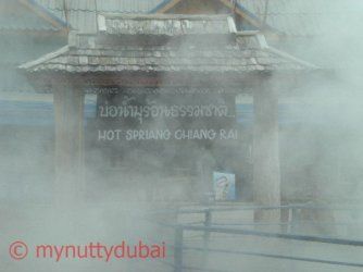 The warmth of the Hot Springs in Thailand
