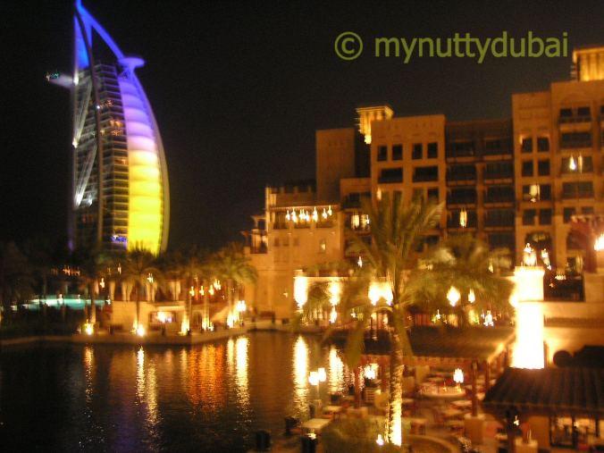 Yellow in the Burj al Arab