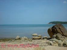 Beautiful ocean in Koh Samui
