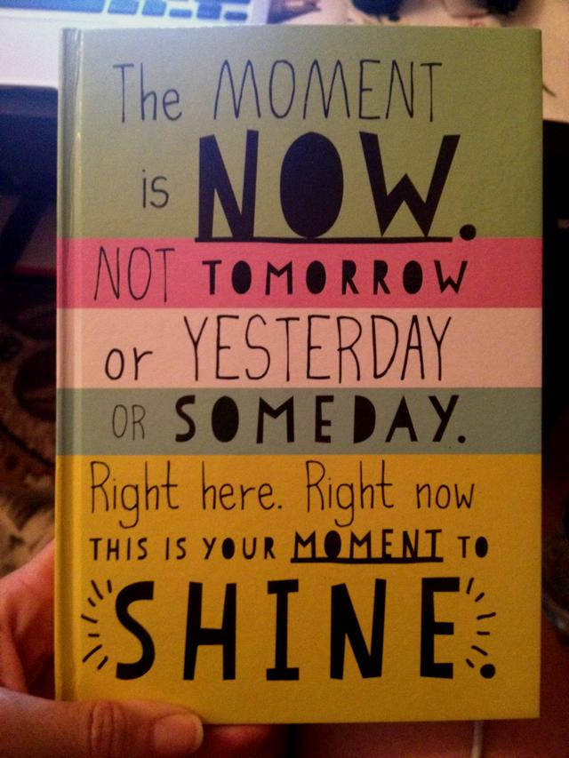 My new diary