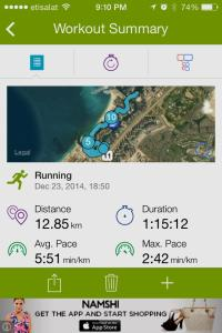 This was one of my favourite runs recently - excellent pace and minimal effort :)