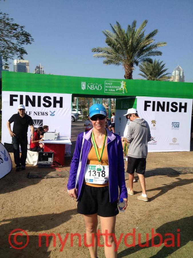 Half marathon - March 2014