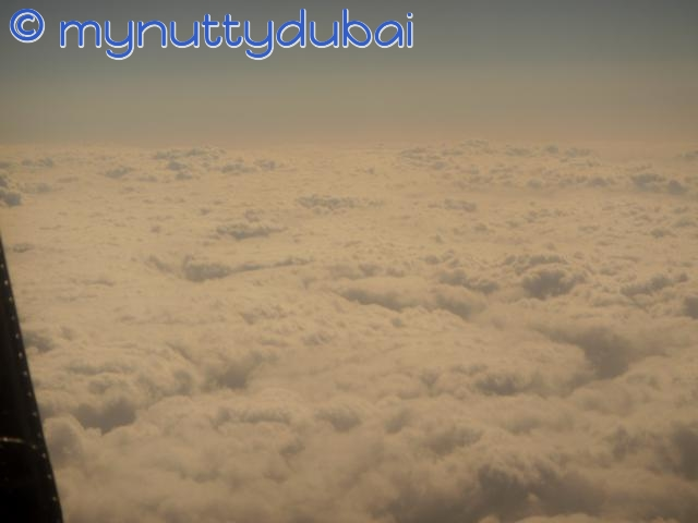 Afloat on a bed of clouds