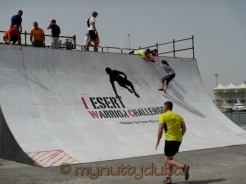 Quarter pipe - 4th obstacle