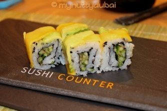 Mango Avo California Roll