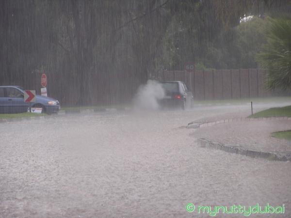 Rain in Johannesburg, circa 2007
