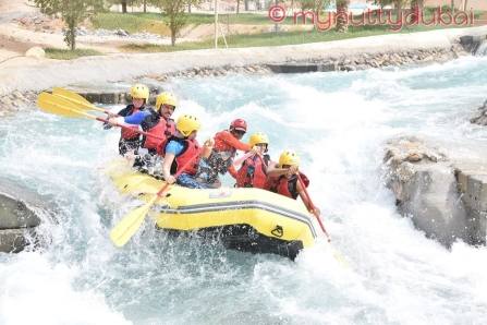 Some of the crazy rapids
