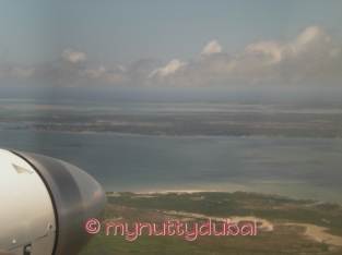 Landing in Mozambique