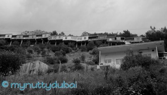 Houses built into the hills, Kurdistan