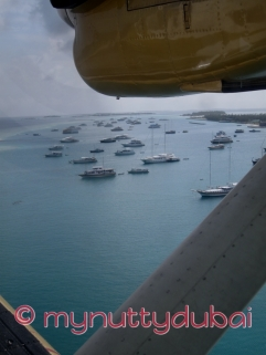 Maldives - seaplane to the hotel