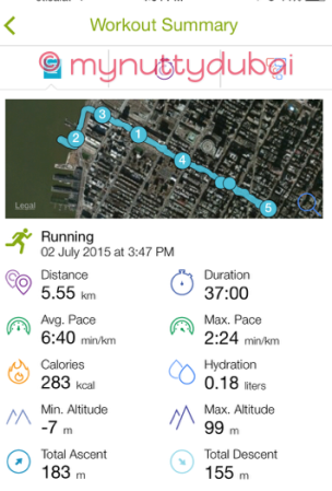 New York City run
