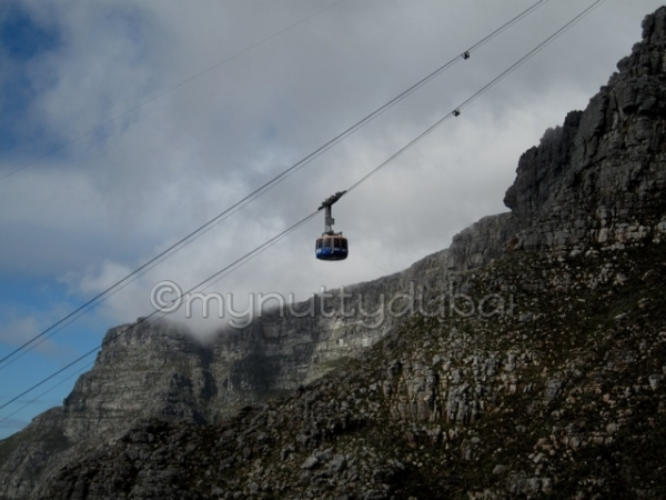 Connecting the ground to the top (of Table Mountain)