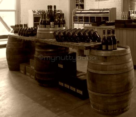Wine kegs in Australia
