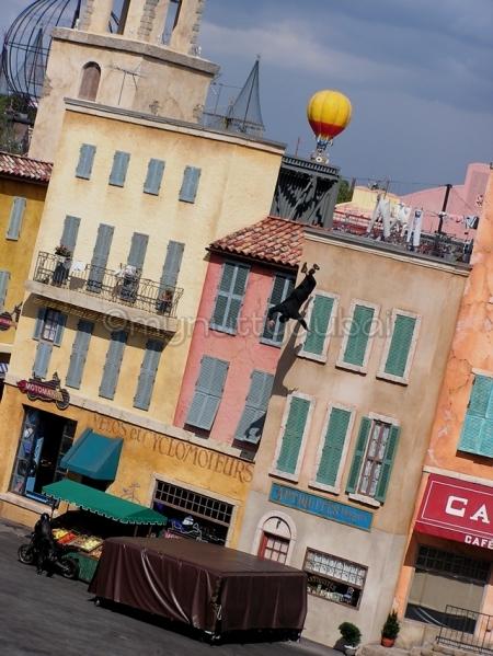 Stuntman at Universal Studios