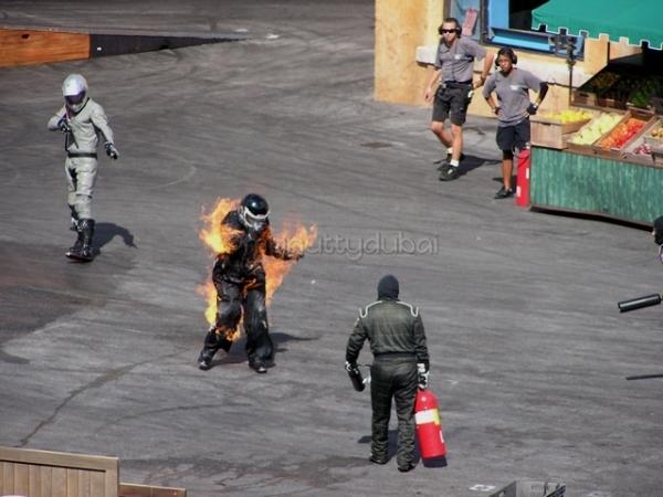 Another stuntman at Universal Studios