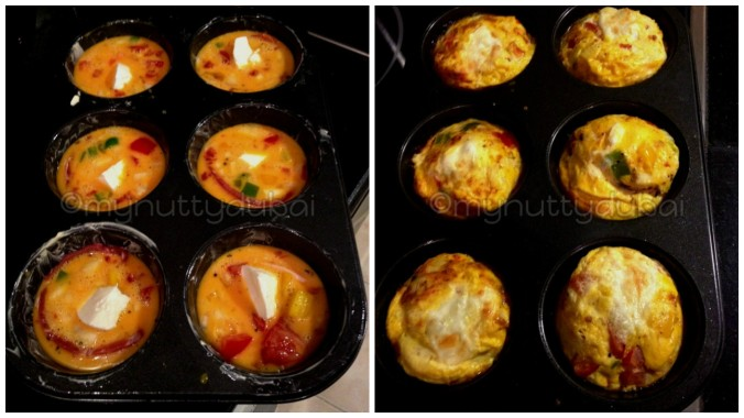 The transition of baking - from runny eggs to fluffy egg muffins