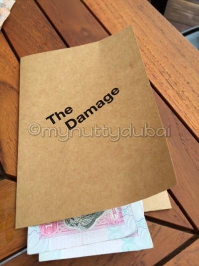 The bill folder!