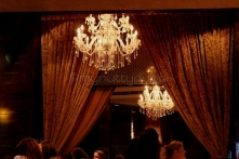 Love the chandeliers