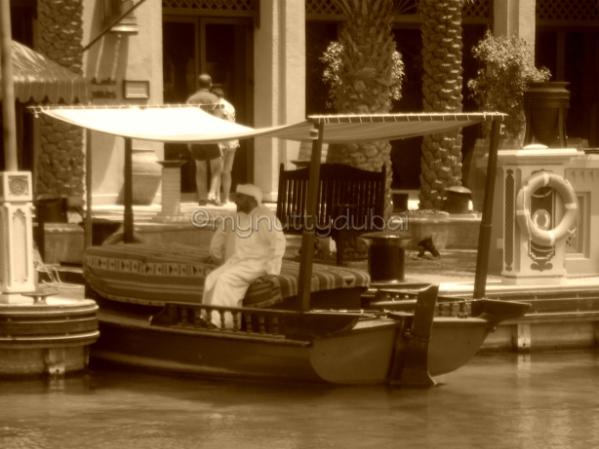 Abra rides at Madinat Jumeirah