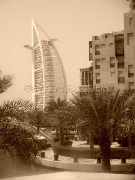 Burj Al Arab, seen from Bahri Bar