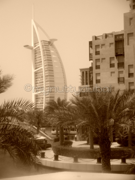 Burj Al Arab, seen from Bahri Bar