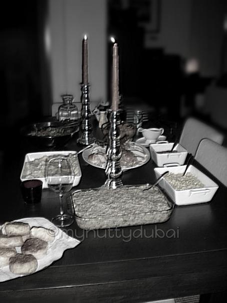Thanksgiving dinner 2008