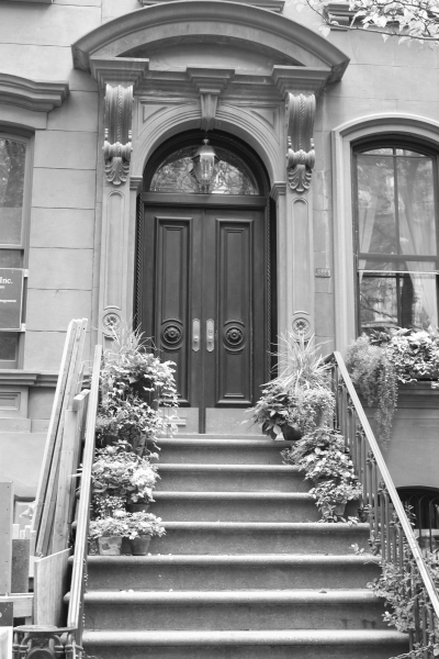 The steps outside Carrie Bradshaw's house, New York