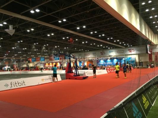 The indoor sports world at Dubai World Trade Centre