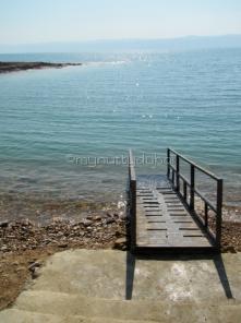 Entering the Dead Sea
