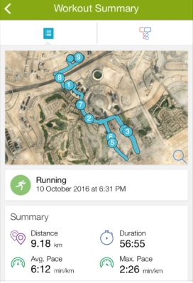 My run :)
