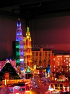Las Vegas, by night