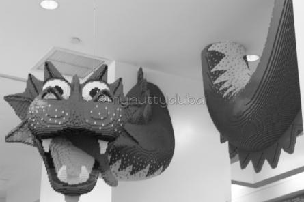 Plastic dragon (Lego)