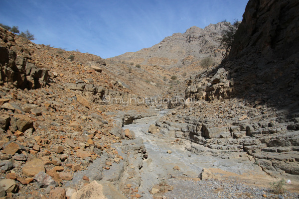 Some easy parts of the wadi