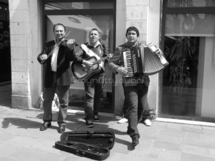 Music on the streets, Venice