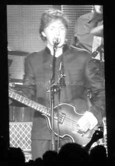 Music at concerts - Sir Paul Mcartney