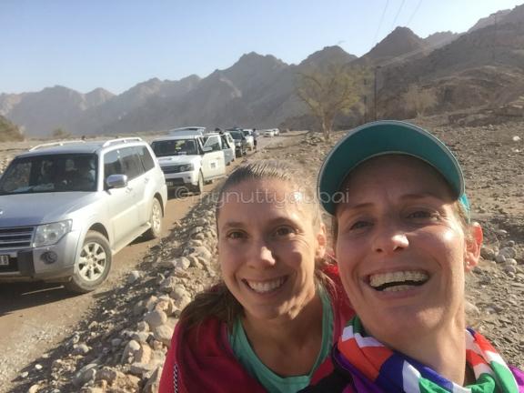 Obligatory race selfie with Nat
