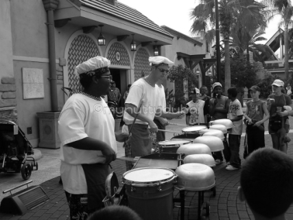 Music on the streets, Epcot