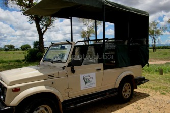 Our game drive vehicle