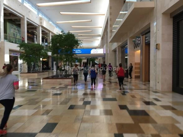 Mall running!