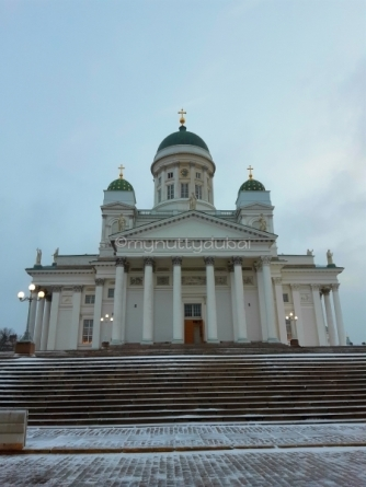 Helsinki Cathedral in Senate Square