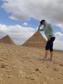 Silliness at the pyramids